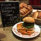 Hamburger de Vegan Images libres de droits