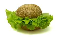 Hamburger de Veggie Photographie stock