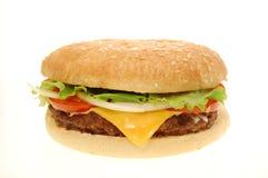 Hamburger del formaggio Immagini Stock