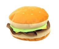 Hamburger del giocattolo Immagini Stock Libere da Diritti