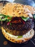 Hamburger del manzo Immagini Stock Libere da Diritti