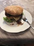 Hamburger del ristorante della Germania Fotografia Stock