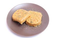 Hamburger del tofu Fotografia Stock Libera da Diritti