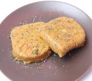 Hamburger del tofu Fotografie Stock