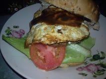 hamburger dello spazio Immagine Stock