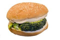 Hamburger di Vegi Immagini Stock