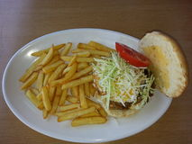 hamburger domowej roboty Obraz Royalty Free