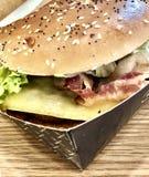 Hamburger Duży obraz stock