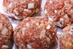 Hamburger - Duits Snel Voedsel III Stock Foto's