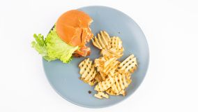 Hamburger e fritadas