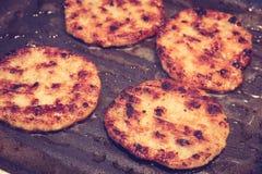 Hamburger (EFF filtrato dell'annata elaborato immagine immagini stock