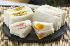 Hamburger en sandwichreeks stock fotografie