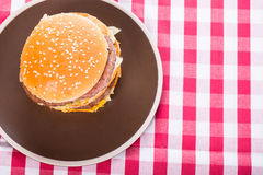 Hamburger Fast food Stock Photography
