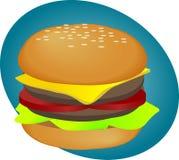 Hamburger fastfood Royalty Free Stock Photography