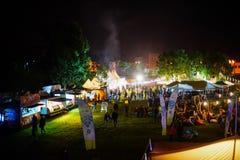 Hamburger Fest 2017, Boekarest, Roemenië Stock Foto's