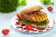 Hamburger fresco Foto de Stock