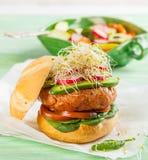 Hamburger gastronomico Fotografia Stock Libera da Diritti