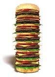 Hamburger grande Fotos de Stock