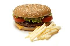 hamburger grule Zdjęcia Stock