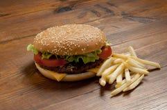 hamburger grule Zdjęcia Royalty Free