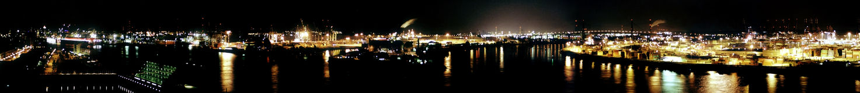 Hamburger Hafen Royalty Free Stock Photography