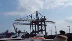 Hamburger Hafen. Shit Big Ships Royalty Free Stock Photography