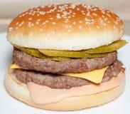 Hamburger, hamburguer Foto de Stock Royalty Free