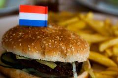 Hamburger holland Royalty Free Stock Photos