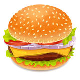Hamburger icon Royalty Free Stock Images