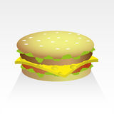 Hamburger icon. Stock Photos