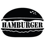 Hamburger icon isolated on white,  Stock Photography