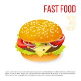 Hamburger icon Royalty Free Stock Image