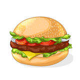 Hamburger icon. Stock Image