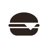 Hamburger icon. On white background Royalty Free Stock Photography
