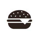 Hamburger icon. On white background Royalty Free Stock Photo