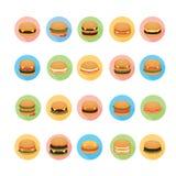 Hamburger icons set. Royalty Free Stock Photography