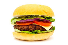 Hamburger isolated royalty free stock photo