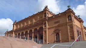 Hamburger Kunsthalle, een oriëntatiepunt van de stad stock foto