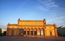 Hamburger Kunsthalle - museo di arte famoso a Amburgo fotografia stock libera da diritti