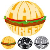 Hamburger logo 1 Stock Photos