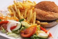Hamburger meal Stock Image