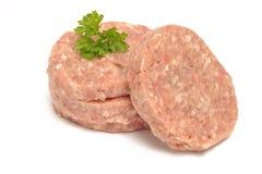 Hamburger meat Stock Photos