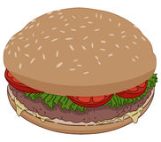 Hamburger Royalty Free Stock Photography