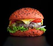 Hamburger messicano Immagini Stock Libere da Diritti