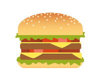Hamburger. This is my vector image for food collection vector illustration