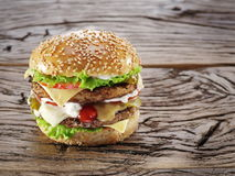 Hamburger. royalty free stock photos