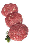 Hamburger Patties Royalty Free Stock Photo