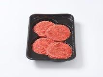 Hamburger patties Royalty Free Stock Photography