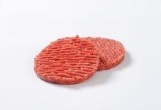 Hamburger patties Royalty Free Stock Photo