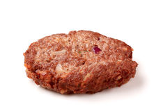 Hamburger patty Royalty Free Stock Photo